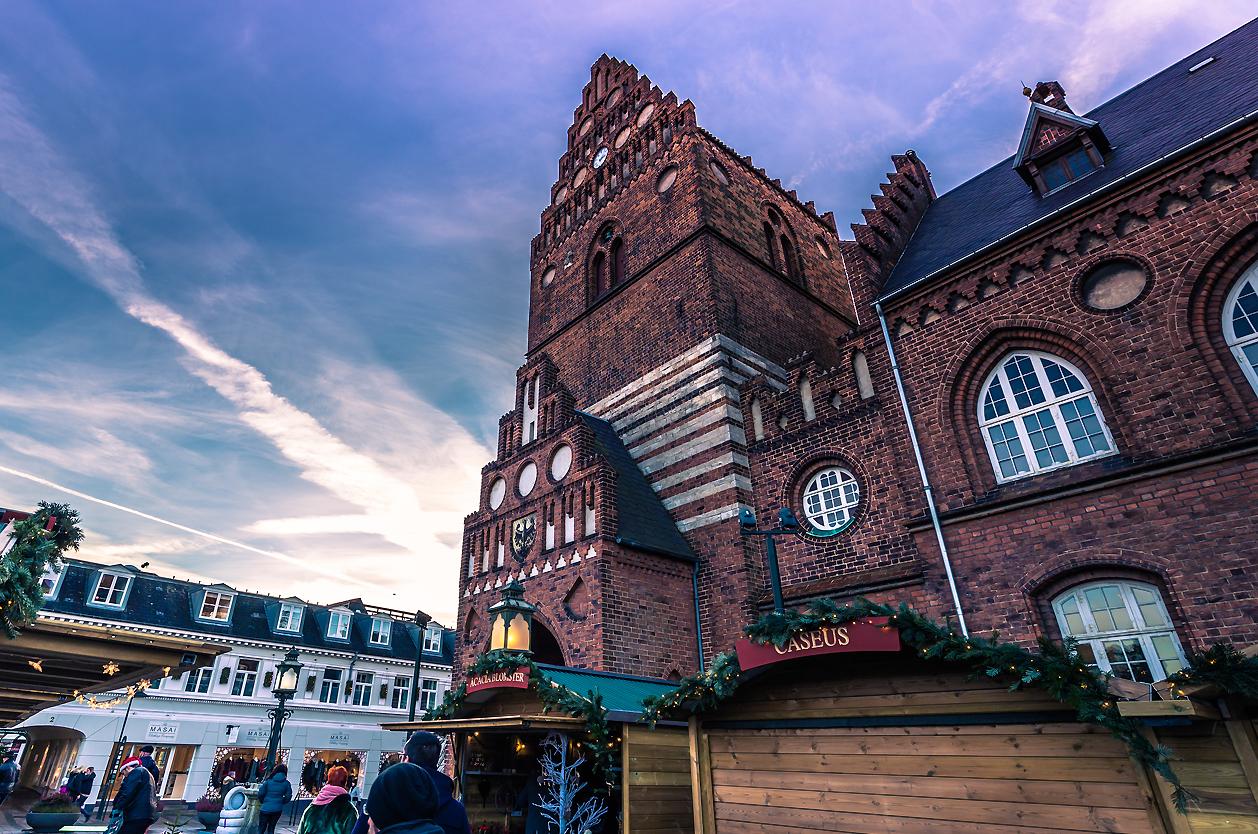 Radnice v Roskilde, Dánsko