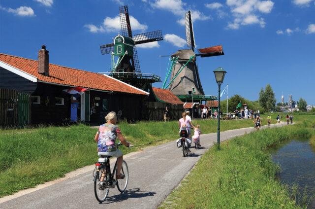 Skanzen mlýnů Zaanse Schans, Holandsko