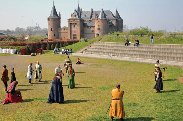 Vodní hrad Muiderslot, Holandsko
