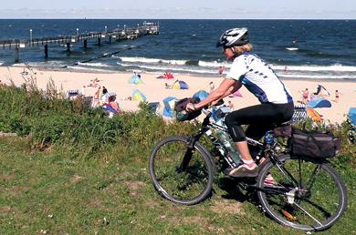 Dánsko, Rujána a Usedom na kole