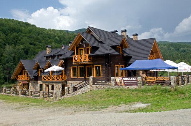 Chata Ustrzyki Górne, Polsko