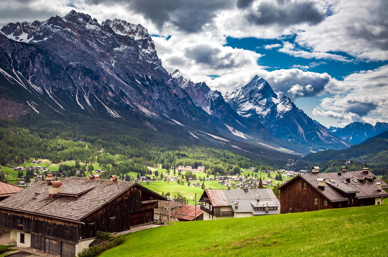 Cortina di Ampezzo, Dolomity, Itálie