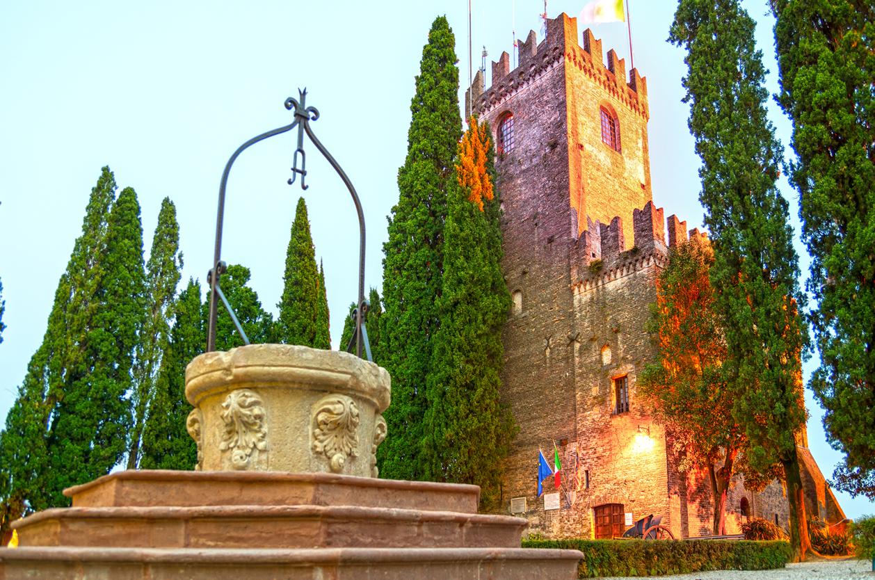 Hrad Conegliano, Veneto, Itálie