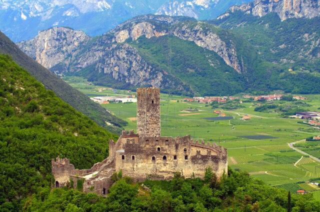 Hrádek Drena, Itálie