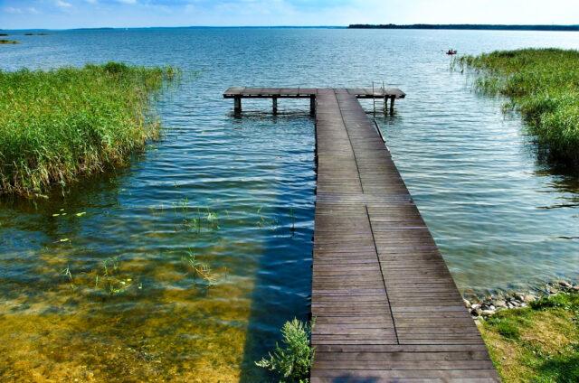 Jezero Luknajno, Mazury, Polsko
