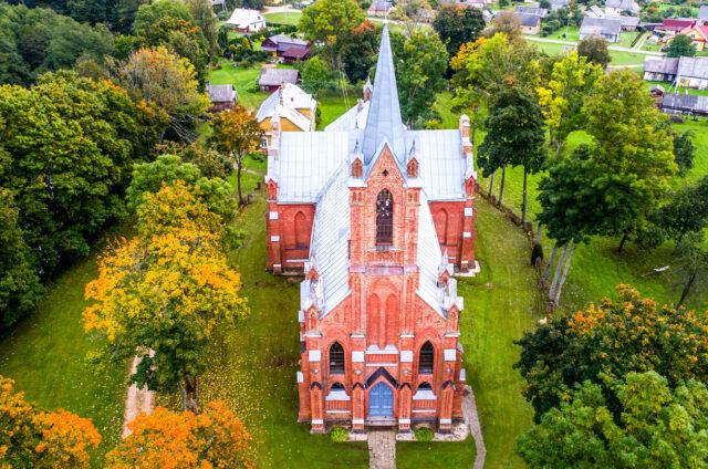 Kostel v Kaltanenai, Litva
