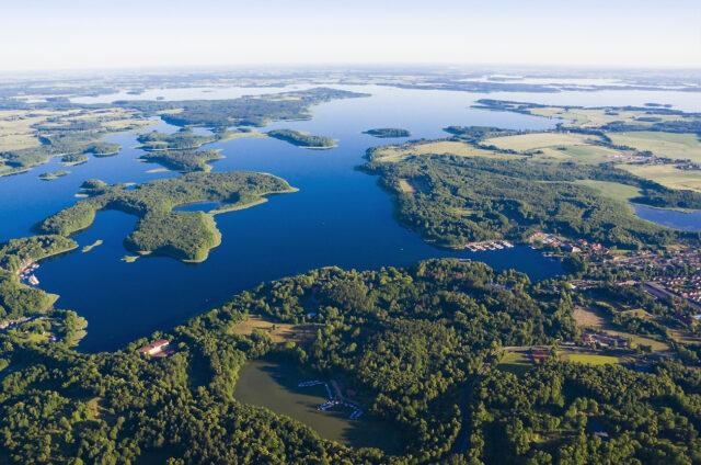 Krajina Mazurských jezer a Gizycko, Polsko