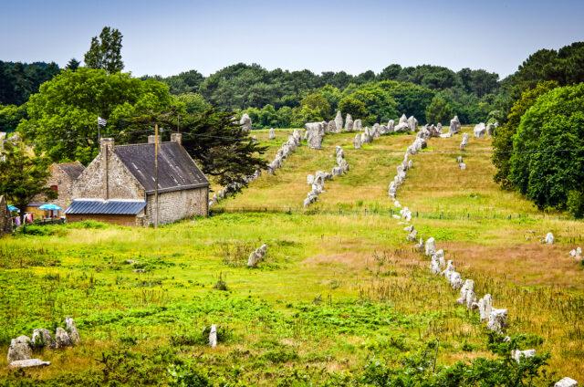 Menhirové řady, Carnac, Francie