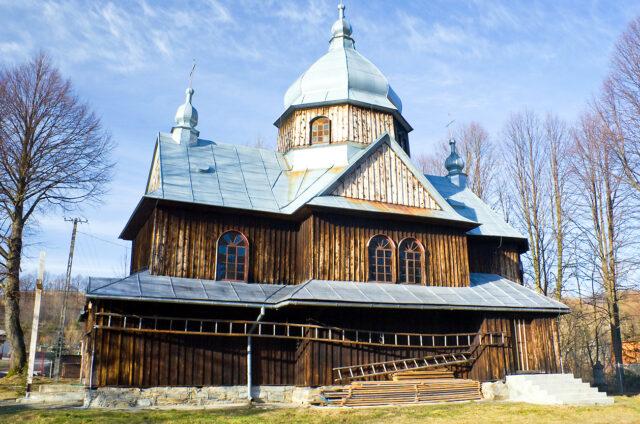 Ortodoxní kostel, Chmiel,Bieszczady
