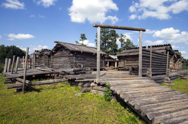 Pevnost doby bronzové, Ariaši, Lotyšsko