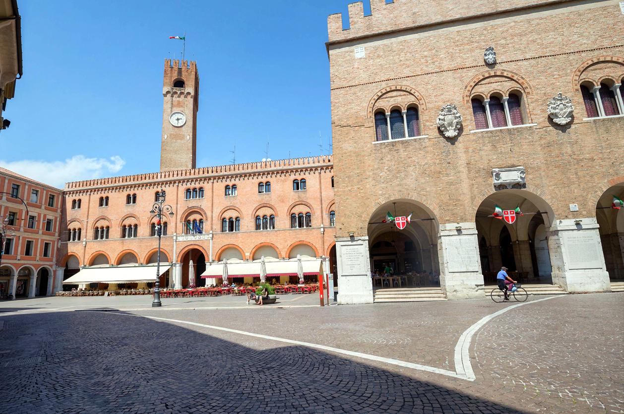 Piazza dei Signori, Treviso, Itálie