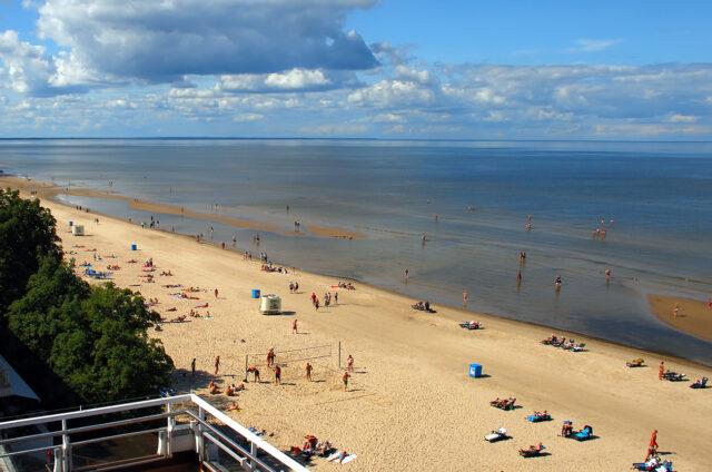 Pláže v Jurmale, Lotyšsko