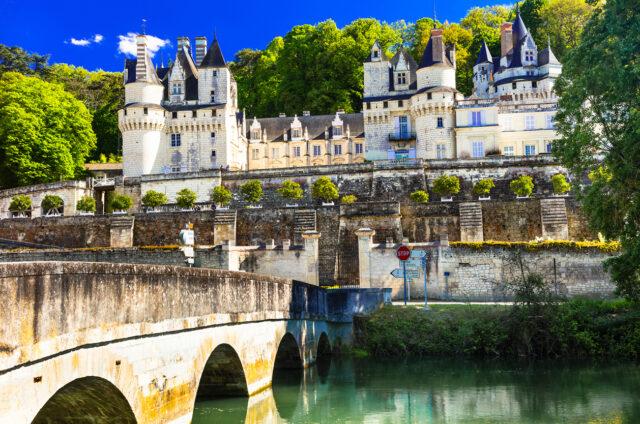 Pohádkový zámek v Ussé, Francie