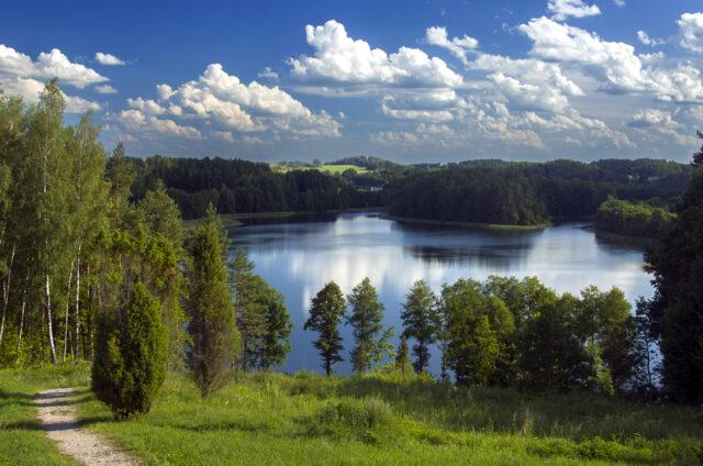 Pohled z Ladakalnis, Litva