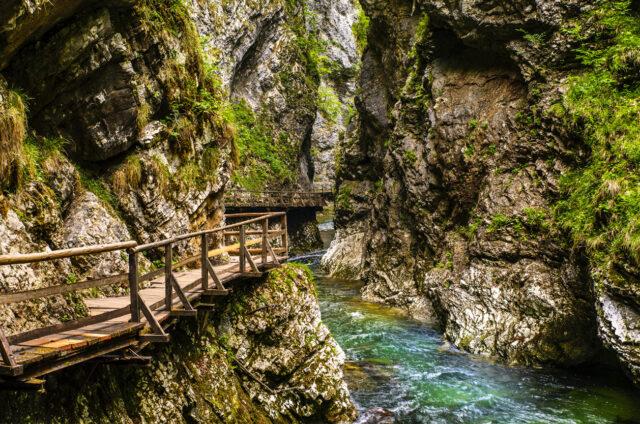 Soutěska Vintgar, Slovinsko