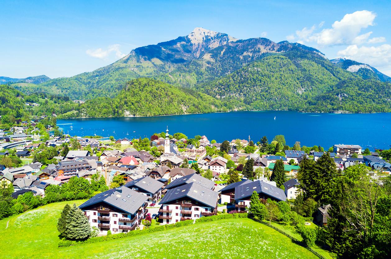 St. Gilgen, Wolfgangsee, Rakousko