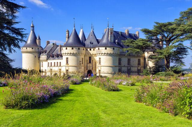 Zámek Chaumont sur Loire, Francie
