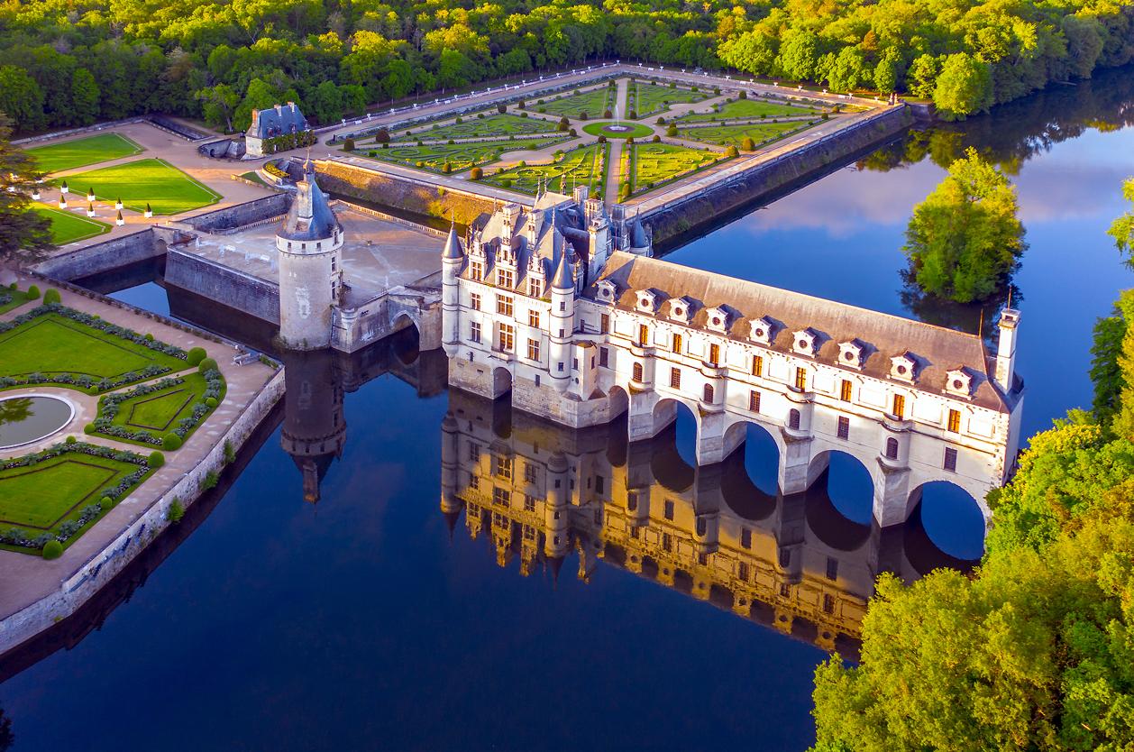 Zámek Chenonceaux, Francie