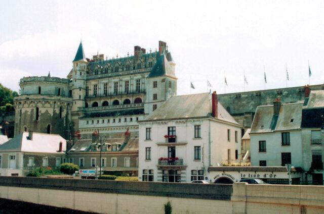 Zámek Amboise, Francie