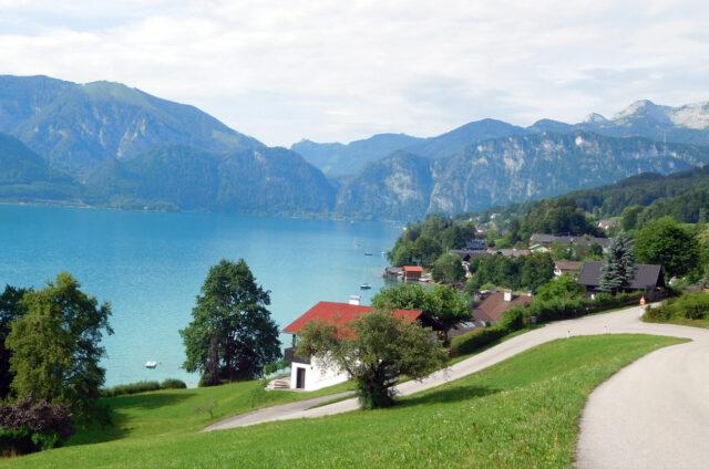 Jezero Attersee, Rakousko