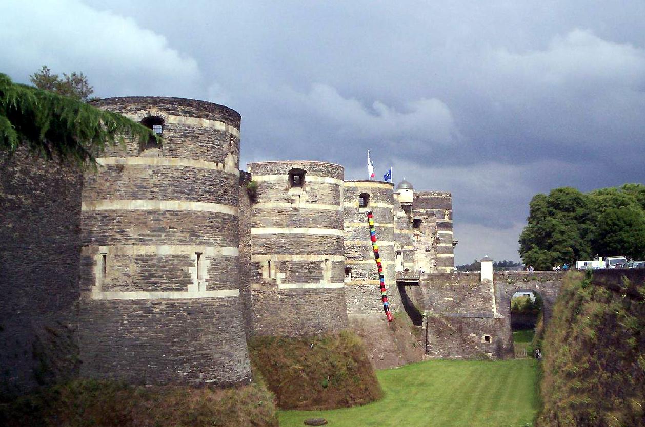 Château d'Angers, Francie
