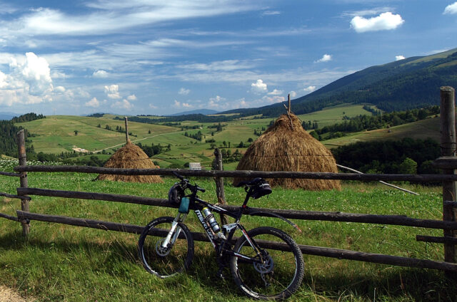 Cyklistika mezi kopci, Ukrajina