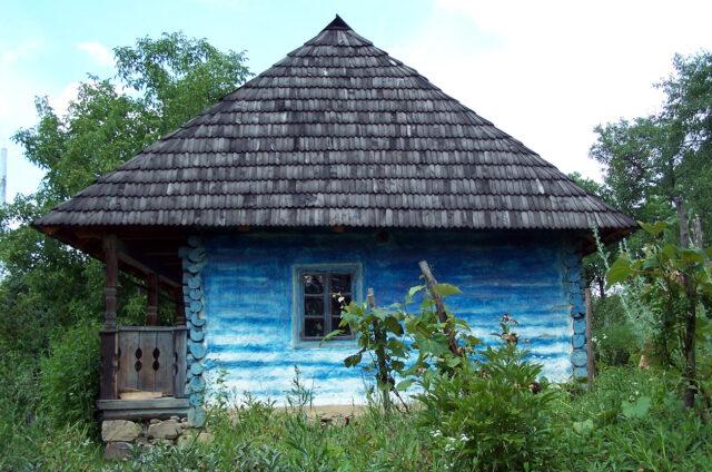 Dřevěná lidová architektura, Ukrajina
