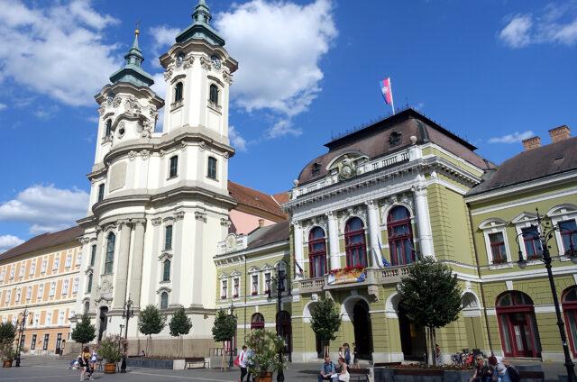 Minoritní kostel, Eger, Maďarsko