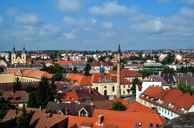 Město Eger, Maďarsko
