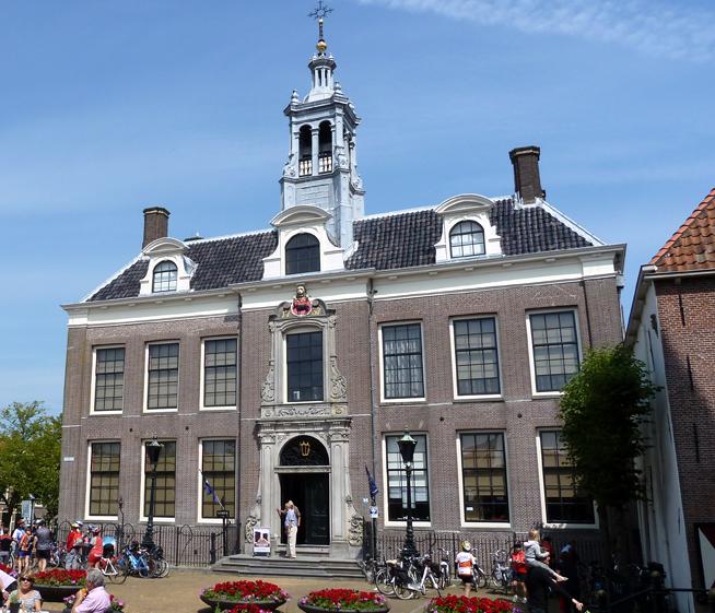 Barokní radnice, Eidam, Holandsko