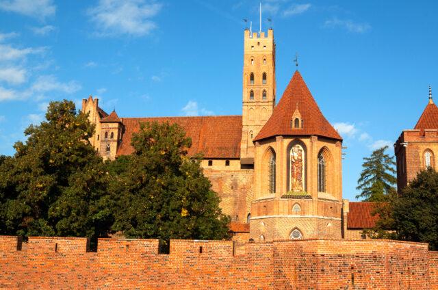 Křižácký hrad Malbork, Polsko