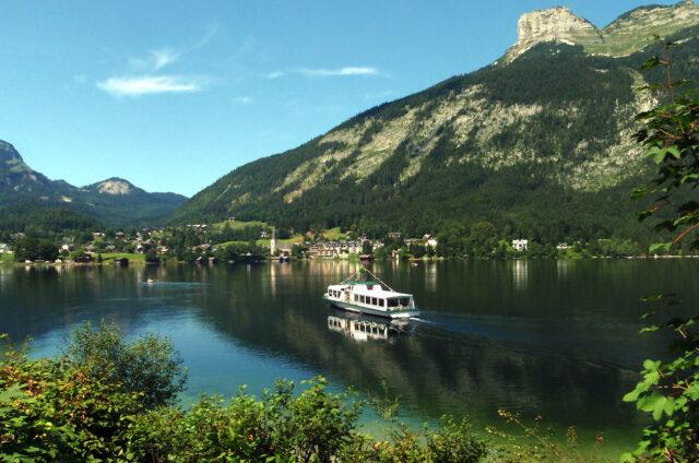 Jezero Grundlsee, Rakousko