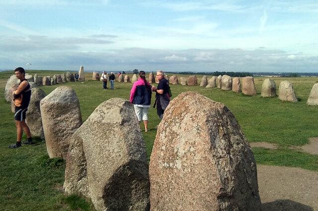 Megalitická loď Ales Stenar, Švédsko