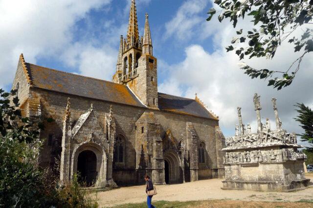Kalvárie Notre Dame de Tronoën, Francie