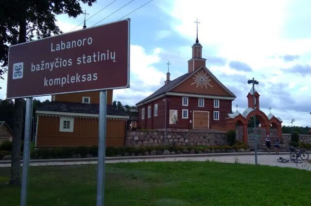 Kostel Narození Panny Marie, Labanoras, Litva