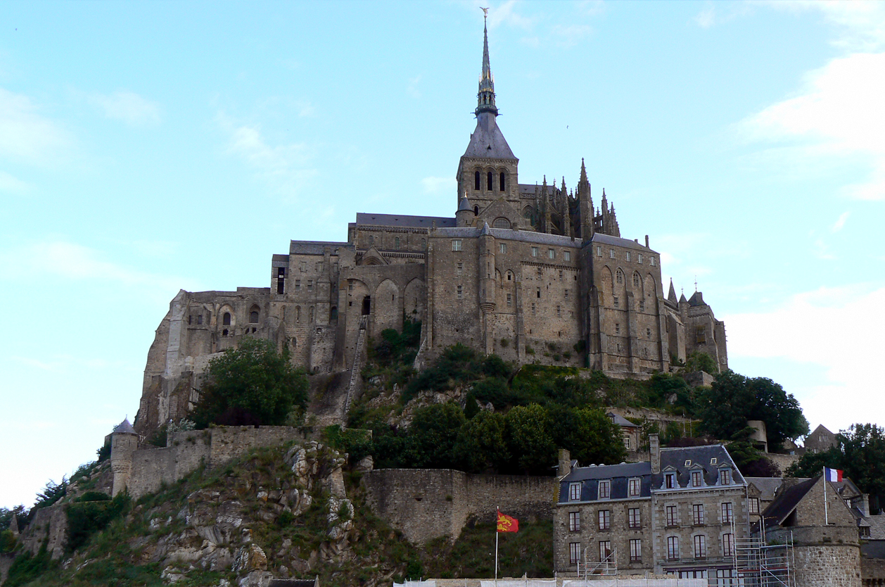 Mont St. Michel, Francie