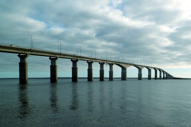 Most na ostrov Oland, Švédsko