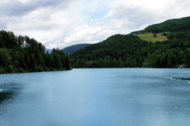 Olanger See, Jižní Tyrolsko, Itálie