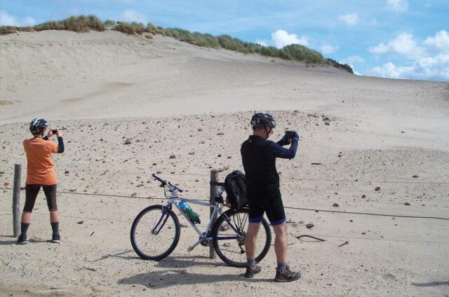 Písečné duny, Hoek Van Holland, Holandsko