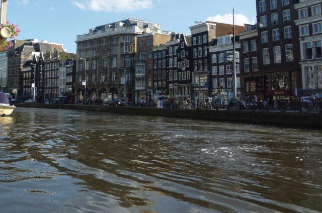 Podél kanálů, Amsterdam, Holandsko
