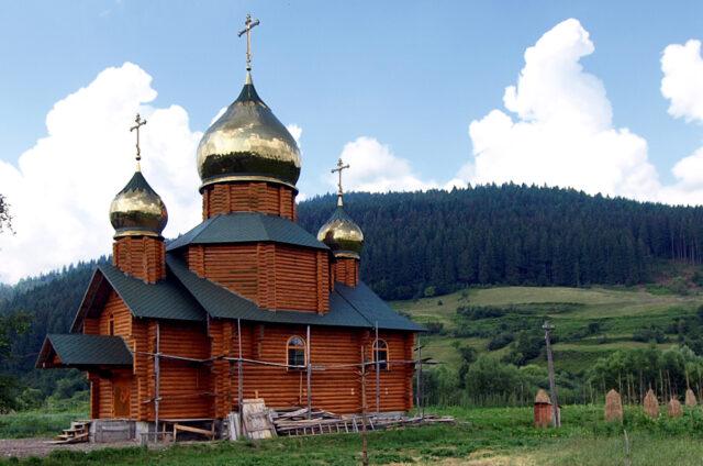 Pravoslavný kostel, Ukrajina