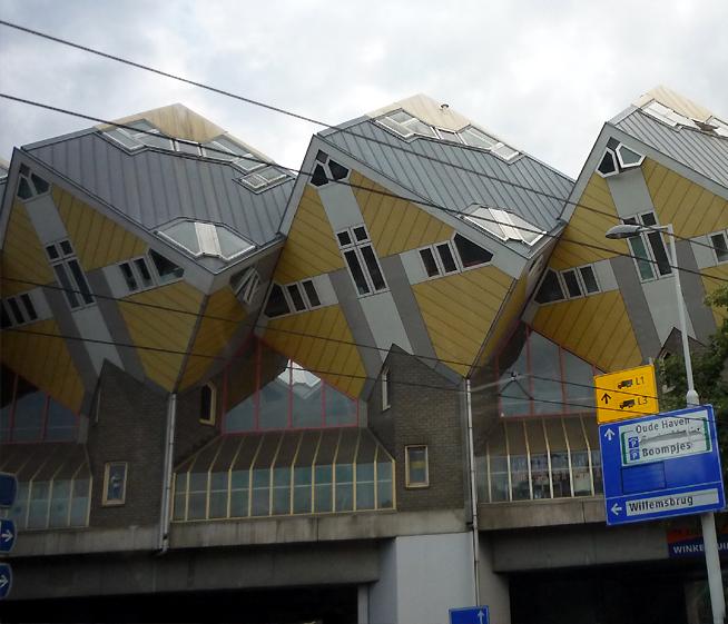 Moderní Architektura Rotterdamu, Holandsko
