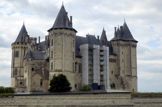 Zámek Saumur, Francie