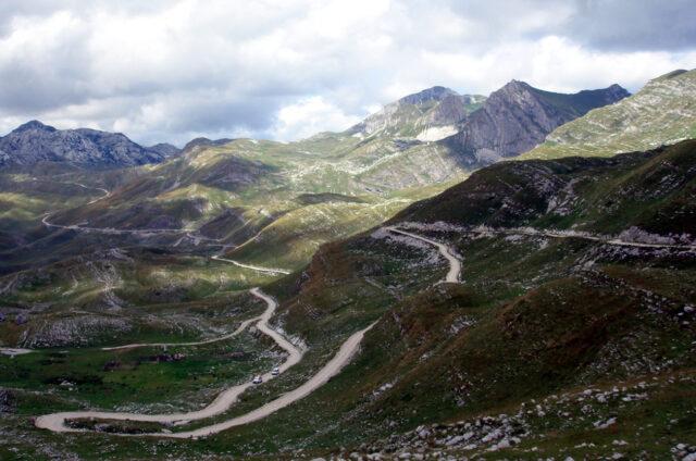 Serpentiny v horách, Černá Hora