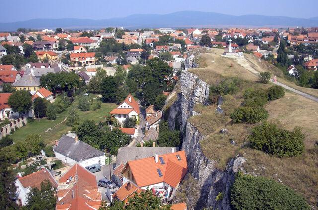 Město královen, Veszprém, Maďarsko