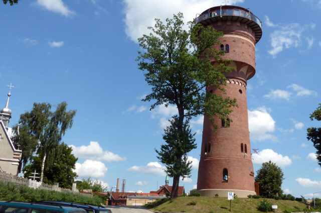 Vodárenská věž, Gizycko, Polsko