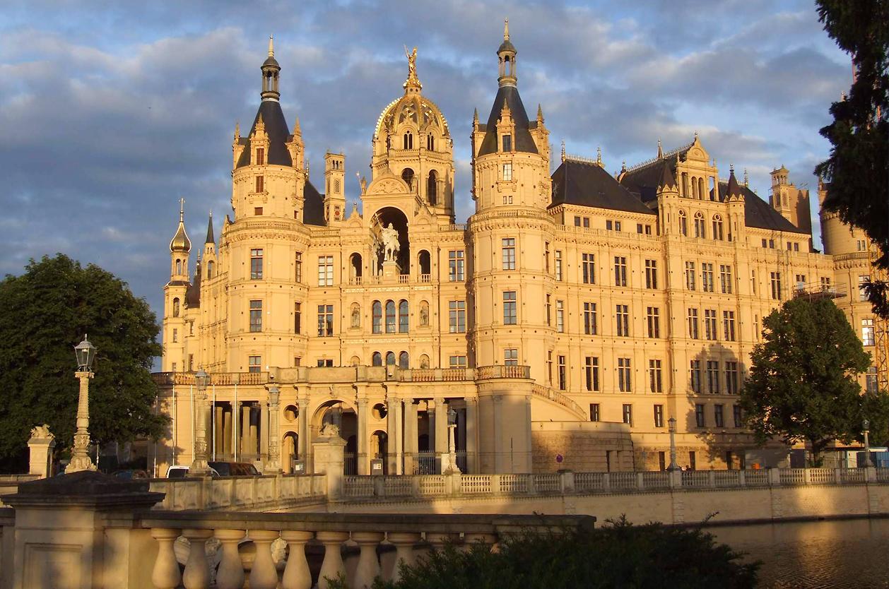 Zámek Schwerin, Německo
