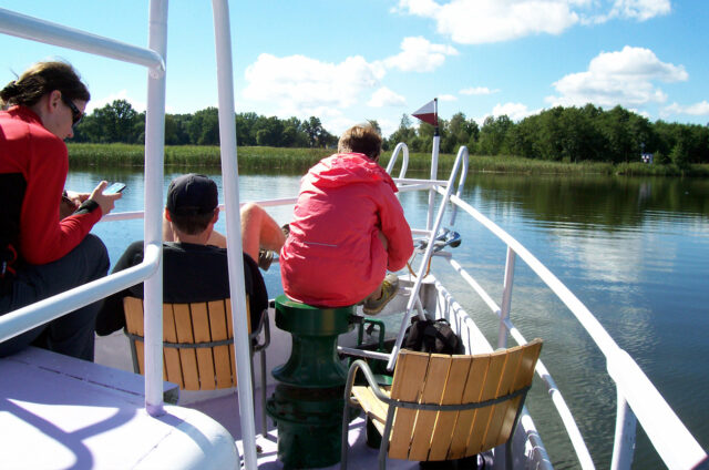 Lodí po Mazurských jezerech, Polsko