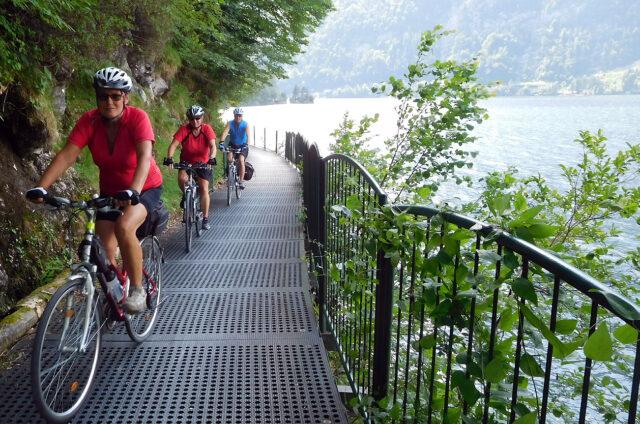 Cyklo okolo Hallstattersee, Rakousko