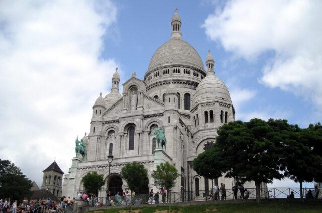 Sacré Coeur, Paříž, Francie